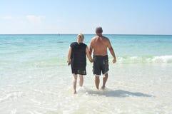 Oceano di amore Fotografia Stock