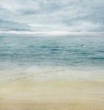 Oceano di estate Fotografia Stock