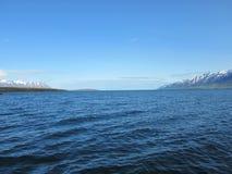Oceano di Northicelandic Immagine Stock