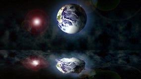Oceano do cosmos da terra ilustração royalty free