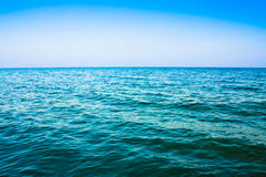 Oceano do mar calmo Fotos de Stock