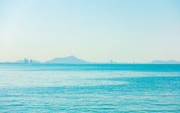 Oceano do mar calmo imagens de stock