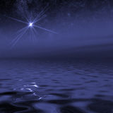 Oceano do Supernova fotografia de stock