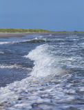 Oceano e areia beach.GN imagem de stock royalty free
