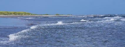 Oceano e areia beach.GN imagens de stock royalty free