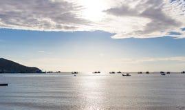 Oceano e céu perfeito (mar) Fotografia de Stock Royalty Free