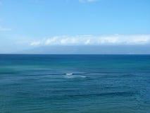 Oceano e cielo Immagine Stock
