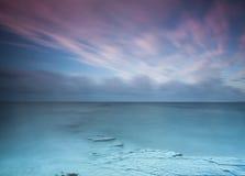 Oceano e cielo Fotografie Stock Libere da Diritti