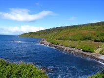 Oceano e cielo fotografie stock