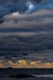Oceano e cielo Immagine Stock Libera da Diritti