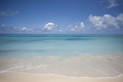 Oceano e horizonte Foto de Stock Royalty Free