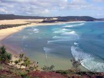 Oceano e praia Foto de Stock