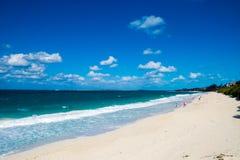 Oceano e a praia Foto de Stock Royalty Free