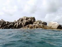 Oceano e rochas Fotografia de Stock Royalty Free