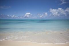 Oceano ed orizzonte Fotografia Stock Libera da Diritti