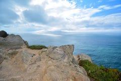 Oceano em Portugal Foto de Stock