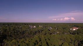 Oceano EUA da costa, Florida video estoque