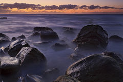 Oceano Garie 02 camadas escuras Fotografia de Stock