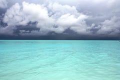 Oceano Indiano Fotografie Stock