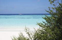Oceano Indiano alle Maldive Fotografie Stock