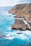 Oceano Indiano Australia di Kalbarri Fotografia Stock Libera da Diritti
