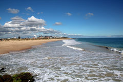 Oceano Indiano a Bunbury fotografia stock
