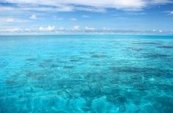 Oceano Indiano calmo fotografia stock