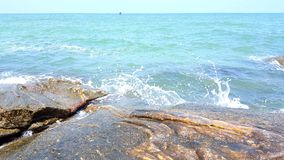 Oceano irritado Fotografia de Stock Royalty Free