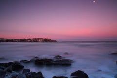 Oceano mistico Fotografie Stock