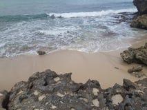 Oceano & Montains Fotografia Stock