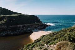 Oceano nel Portogallo Immagini Stock