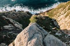 Oceano nel Portogallo Immagine Stock