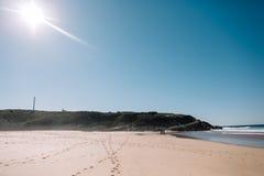 Oceano nel Portogallo Fotografia Stock Libera da Diritti