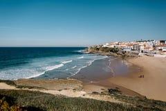 Oceano nel Portogallo Fotografie Stock Libere da Diritti