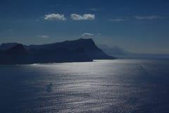 Oceano no cabo Foto de Stock