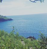 Oceano orientale di Bali Immagini Stock