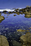 Oceano Pacífico Foto de Stock Royalty Free