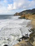 Oceano Pacífico bonito Imagem de Stock Royalty Free