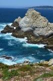 Oceano Pacífico de Big Sur Fotografia de Stock