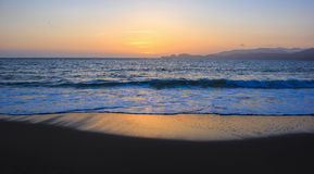 Oceano Pacífico em San Francisco Imagens de Stock
