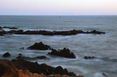 Oceano Pacifico Cambria, California Fotografie Stock