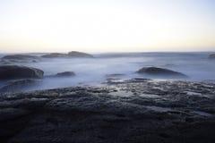 Oceano Pacifico, Cile Fotografia Stock