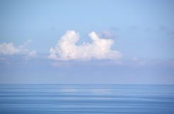 Oceano Pacifico in Taiwan Fotografie Stock