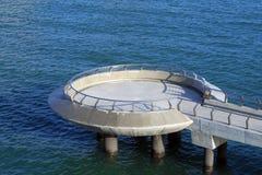 Oceano, piattaforma d'esame Fotografie Stock Libere da Diritti