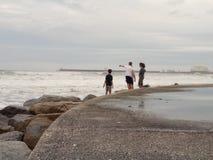 Oceano Portogallo fotografia stock libera da diritti