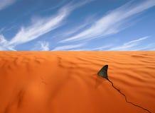 Oceano quente do deserto Imagem de Stock