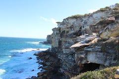Oceano & rochas foto de stock