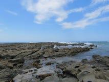 Oceano rochoso Foto de Stock