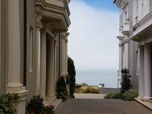 Oceano San Francisco da casa foto de stock