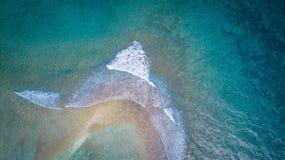 Oceano selvaggio Fotografie Stock